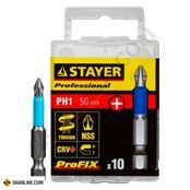 "Биты STAYER ""Professional ProFix Phillips"" (10 шт.)"