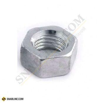 Гайка шестигранная высокопрочная DIN 6915 с увеличенным размером под ключ оцинкованная сталь 10.0, M20 (артикул - 2981) купить оптом в SNABLINE.COM